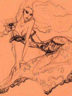 """Nadia Slavina. """"ВУАЛЬ"""". коллекция haute couture осень-зима 2009/10"""