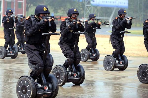 Китайская полиция умеет все