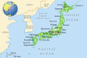 Новое землетрясение в Японии