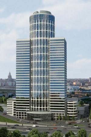 Километровое здание в Баку