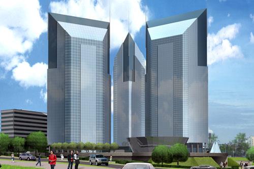 Километровое здание в Баку. Часть 2
