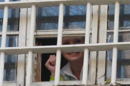 Тимошенко в колонии