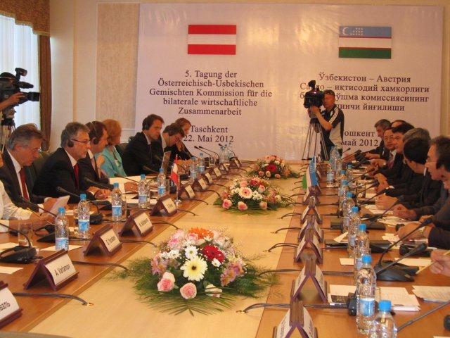 Узбекистан будет сотрудничать с Австрией