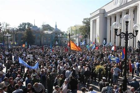 Митинг в защиту украинского языка