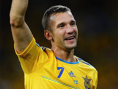 Андрей Шевченко возглавил список лучших футболистов