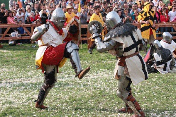 Средневековый фестиваль в Украине