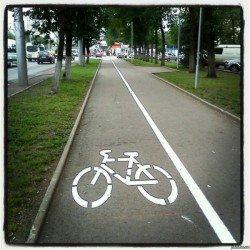 Первая в мире солнечная велодорожка